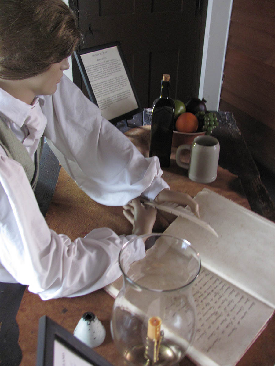the doctor is in at spanish military hospital museum in st augustine